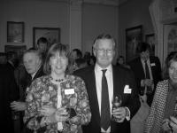 Mike and Linda Rogers who did such a fantastic job in organising the evening at The Long Room
